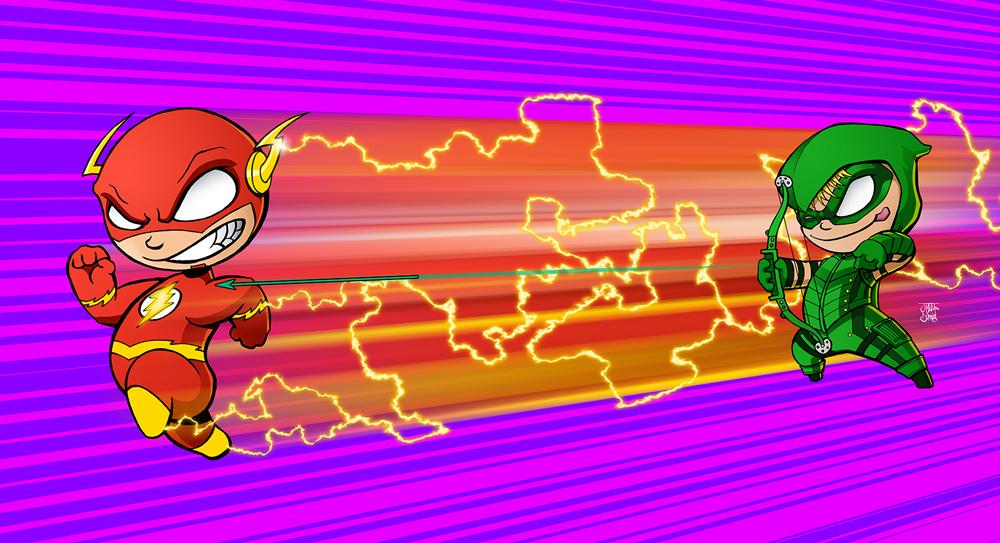 Flash-v-Green-Arrow-001a